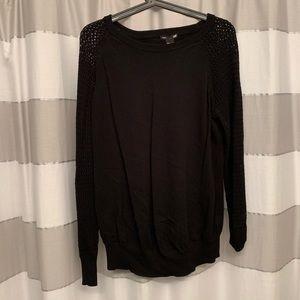 Black Maternity Sweater